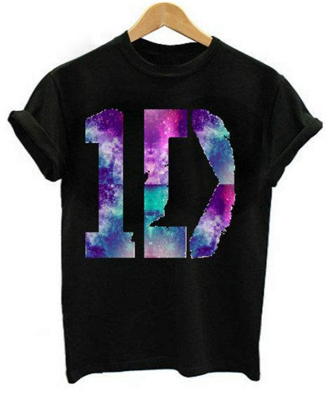 Tshirt Kaos One Direction 1d one direction galaxy print logo from plutotops on etsy epic