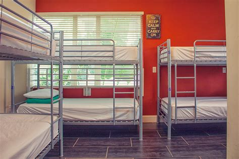 bed miami beds and drinks hostel in miami beach