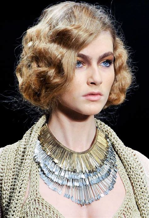 flapper hair diy how to create the new waved flapper bob to state the