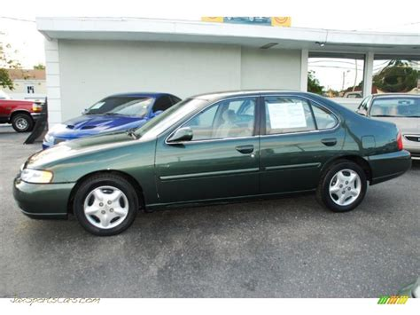 nissan altima gxe 2000 2000 nissan altima gxe in green emerald metallic 199385