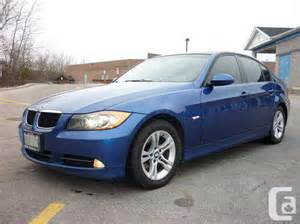 328 For Sale Canada 2008 Bmw 328i For Sale In Guelph Ontario Classifieds