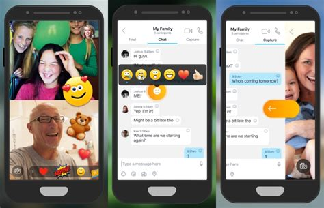 skype in mobile skype begins testing live reactions and integrated