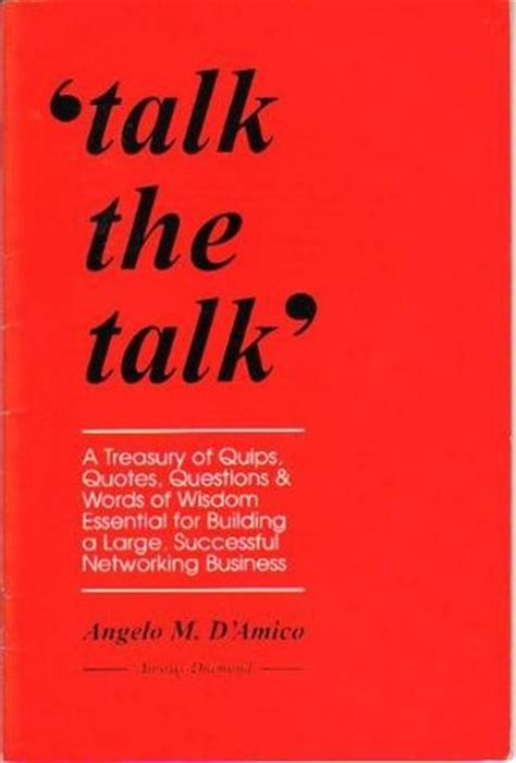 talk the talk by angelo m d amico reviews discussion