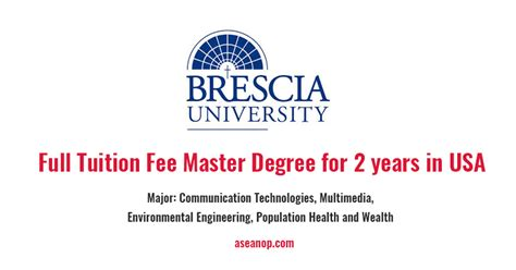 Tuition Free Mba Degree In Usa by Master Scholarship Program For International Students In