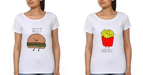 best t shirts for bff t shirt ektarfa buy best t shirts in india
