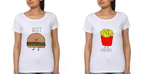 Best Tees Bff T Shirt Ektarfa Buy Best T Shirts In India