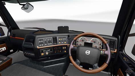 black  brown interior   volvo  euro truck simulator