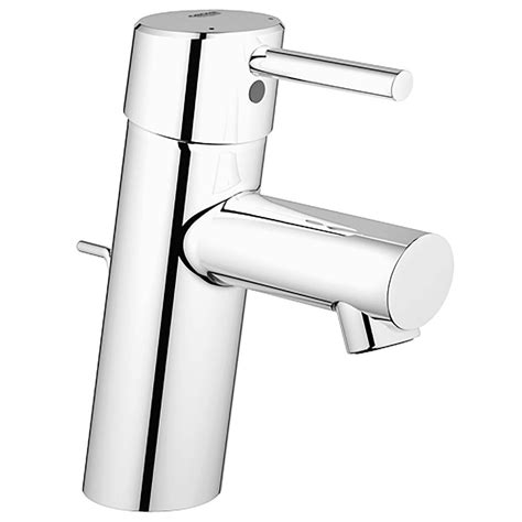grohe bathroom sink faucets grohe concetto single single handle bathroom faucet in nickel infinity finish 34270ena