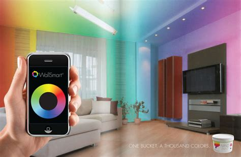 wallsmart an interactive paint materia