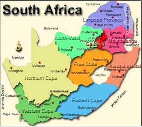south africa map kwazulu natal top business kzn in context