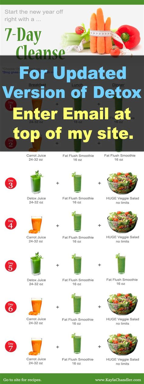 7 Day Detox Miracle by 17 Best Ideas About 7 Day Detox On 7 Day Detox