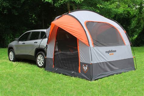 Van Canopy Awning Rightline Gear Suv Tent With Rainfly Waterproof Sleeps