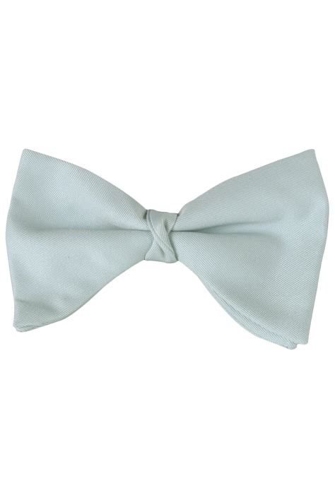 blue tuxedo bow tie