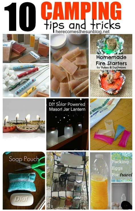 Home Made Birthday Decorations 10 of the best camping tips and tricks here comes the sun