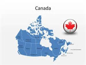 free editable powerpoint canada map