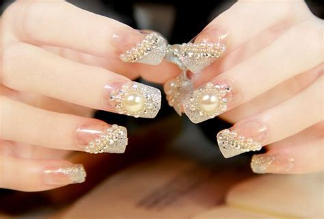 40 Awesome Wedding Nail Ideas To Make Your Special Day Perfect