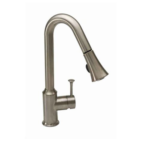 kitchen faucet pull sprayer american standard pekoe single handle pull sprayer