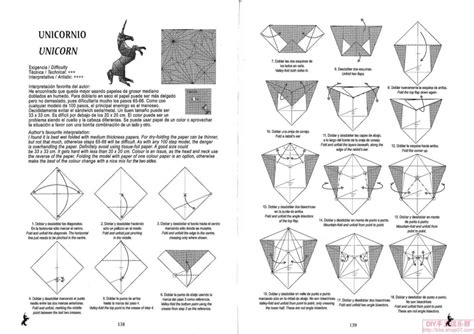 Origami Unicorn Diagram - free coloring pages unicorn origami do origami origami