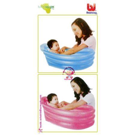 Murah Baby Steps Ikan jual murah bestway babysteps 123 bathtub pink blue toko semuada bunda salsabila