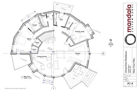 circular home floor plans round houses our green round home