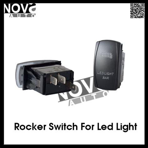 automotive led light bar automotive electric backlit led light bar rocker switch