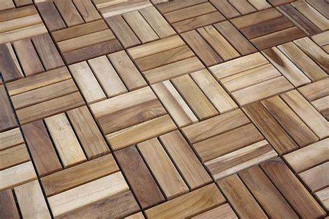 tiles teak outdoor floor tiles by il giardino di legno