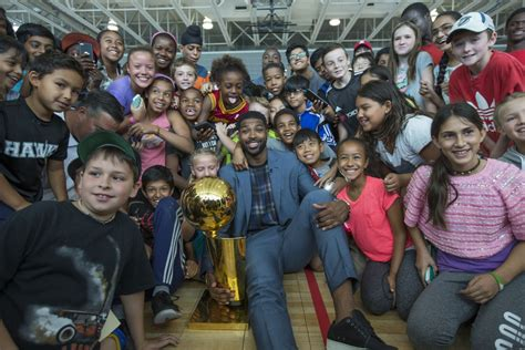 tristan thompson�s basketball life comes full circle with