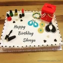shreya happy birthday cakes photos