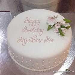 special vanilla cake husband birthday