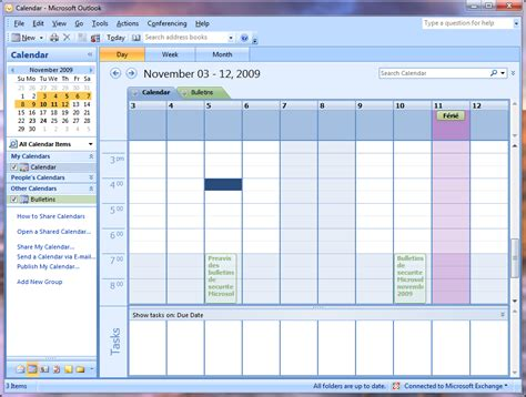 2 Calendriers Dans Outlook Calendrier Outlook