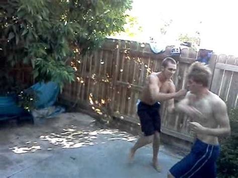 chris s backyard fight