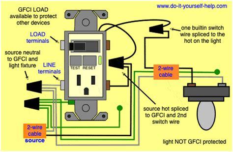 Gfci Wiring Schematics Schematics Online