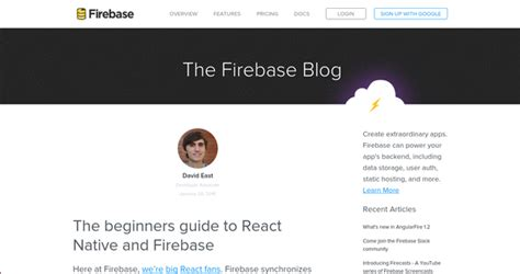 react native firebase tutorial learn to develop native apps with react native