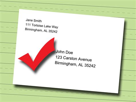 how to make a letter envelope write address on envelope