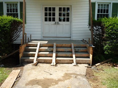 How To Build Concrete Steps how to build pour concrete steps how to build a house