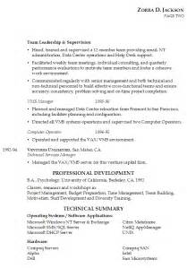 combination resume sle combination sales resume