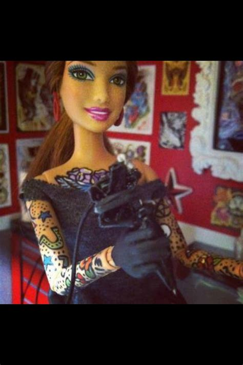 tattooed barbie tattoos