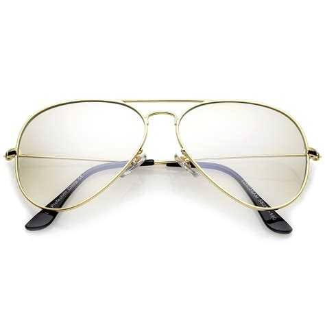 sunglassla small nose bridge slim temple clear lens