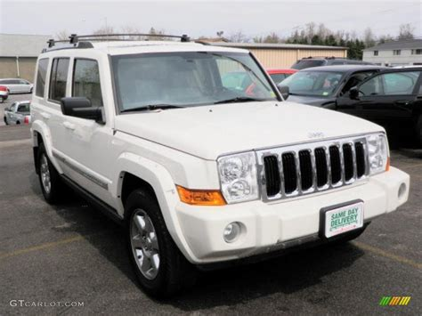 2007 Jeep Commander White 2007 White Jeep Commander Limited 4x4 30817030