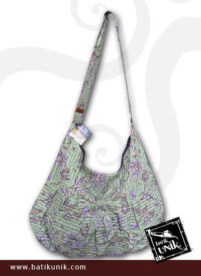 Dompet Wanita Bantal Pita Flip Murah tas batik slempang motif batik bunga unik tas wanita