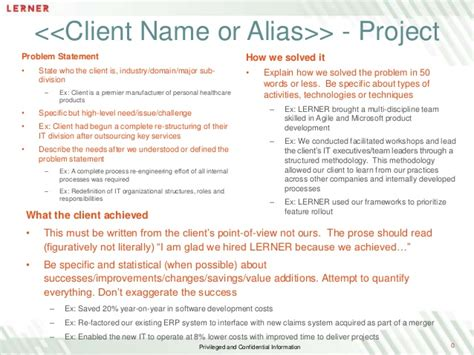 client case study citations template