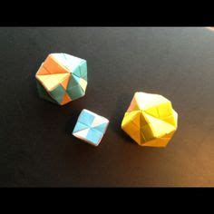 Things You Can Make With Construction Paper - geometry things you can make on origami
