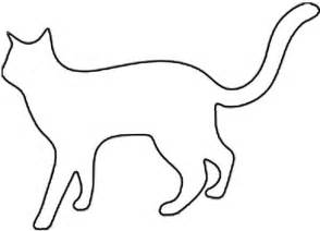 cat silhouette template cat silhouette outline cliparts co