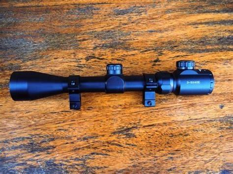 Telescope Buhsnell 3 9x40egc scopes bushnell 3 9x40eg rifle scope with and green illuminated ir range finding graph