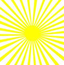 yellow sun burst pattern free clip art