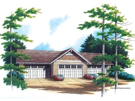 4 Car Garage Plans by 4 Car Garage Plans Northwestern Style 4 Car Garage Plan