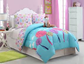 Girls kids bedding foxy lady comforter set full bedding by size