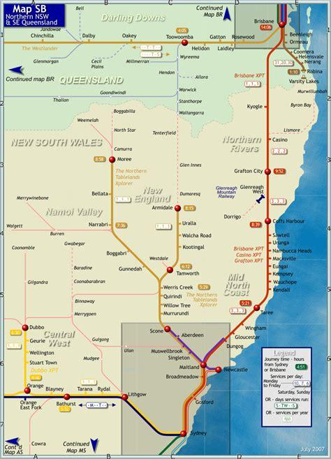 Northern New South Wales   northern new south wales map northern new south wales