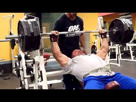 derek poundstone bench press derek poundstone 500 lb bench press for reps vidoemo