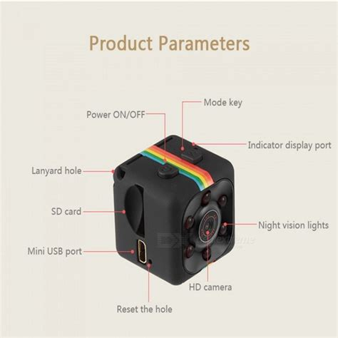 Mini Dv Sq11 Hd 1920x1080 sq11 1080p 12mp mini car dvr w motion detection 32gb storage free shipping dealextreme